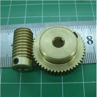 0.5M - 30Teeths worm gear+Rod high speed reduction ratio 1:30Toys speed reducer motor accessories