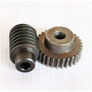 1.25M-50Teeths  gear hole:10mm  rod hole:8mm   45# steel worm gear wheel speed reducer