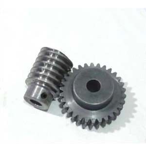42L-E514 1.5M 50Teeth Reduction Ratio 1:50 Gear Bore 10mm Gear Rob Bore 10mm Carbon Steel Gear Worm