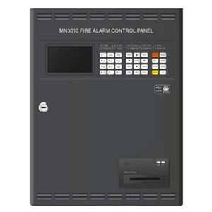 Addressable Fire Alarm Control Panel one loop for 324 addresses