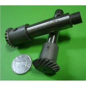 1.25M-20T Spiral Bevel Arc Gear Reducer Commutator Gear 1:1 Transmission 90 Degree Socclusion