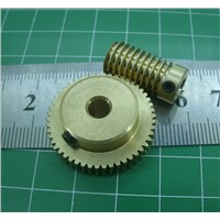 0.5 Mold 40Teeths  Worm Gear High Speed Reduction Ratio  1:40-Remote Control Toys Steering Gear Worm Gear Combination