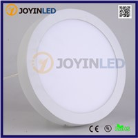 10pcs No Cut ceiling/wall 6w 12w 18w Surface mounted led downlights circle white panel lamp for home kitchen