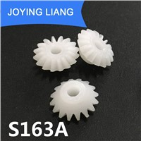 S163A Bevel Gear Pom Plastic 11.2mm Diameter Gears Toy Model Accessories