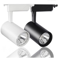 Cob Led Track Light 10W 20w 30W Iluminacion Led Spot Lighting Track Lighting Led Spotlight