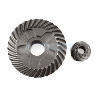 Electric Power Tool Metal Helical Tooth Spiral Bevel Gear Set for Bosch GWS6-100 Angle Grinder