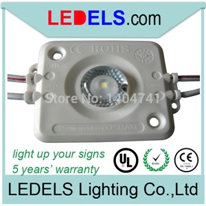 Free Shipping 200pcs / lot UL listed led light for light box sign,Powered by Osram module box lighting led 1.6Watt 120lm / LED