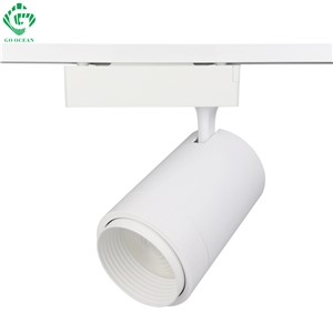 GO OCEAN Track Lighting Rail Spot 12W 20W 30W Black White Modern LED Track Light Kitchen Rail Lighting Light Fixtures