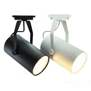 Good Quality 7W LED Track Light Clothes shop track lighting Black or White body rail light for shopping mall