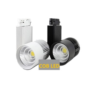 30WCOB LED Track Light  Rail Light Spotlight strip Equal to200w Halogen Lamp 110v 120v 220v 230v 240v Track Lamp Rail Lamp