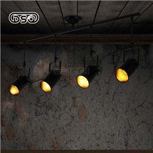 DISHENGQI,American Style Vintage LED Track Light For Shop Decoration Restaurant Bar