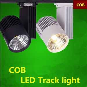 20W 30W COB LED track light 2pin (or 3pin customized) AC110V-240V
