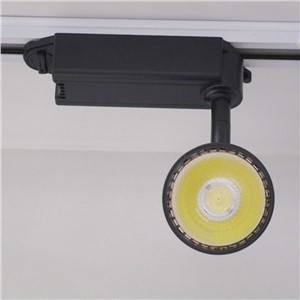 Dimmable store window lighting 20w in black / white track head rail lighting warm / neture / pure white led showcase lighting