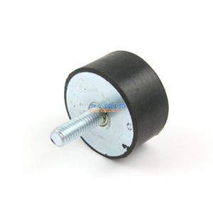 4 Pieces 40*20mm Body M8*23mm Male Rubber Anti Vibration Mount Bobbin Isolator