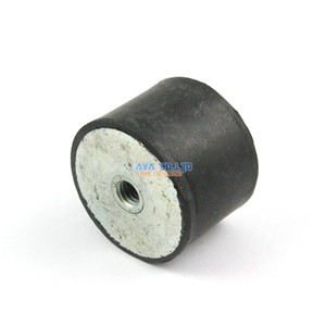2 Pieces 40*30mm M8 Female - Female Rubber Anti Vibration Mount Bobbin Isolator