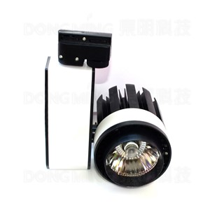 LED Track Light 20W 2100LM COB ceiling Rail Light Spotlight Lamp 110v-240v Warm/Cold White for store/shopping mall