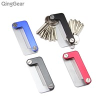 4PCS QingGear OKEY Outdoor Kits Advanced Key Organizer Light Weight Quickly and Easily Open key holder Useful Keys bar Tool