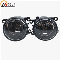 Malcayang Angel Eyes 1 set Fog Lights Halogen Fog Lamps Original Car Styling For Dacia Logan LS 2004-2015