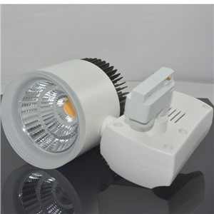 30W Led Track Light Episar chip COB LED Track Lamp Spot Track Rail Light AC85-265V 3years warranty