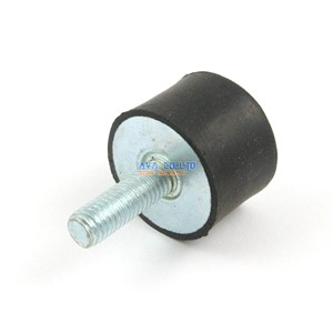 5 Pieces 30*20mm Body M8*23mm Male Female Rubber Anti Vibration Mount Bobbin Isolator