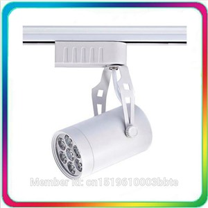 60PCS Warranty 3 Years Thick Housing 100-110LM/W 18W 12W 7W LED Track Light Dimmable Spot Bulb Spotlight Rail