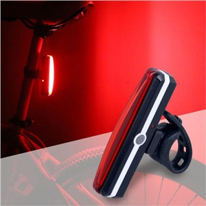 USB Rechargeable Red Bicycle Tail Light White Bike Cycling Rear Lamp Taillight 26 LEDs Rain Water Proof Warning Bike Lights