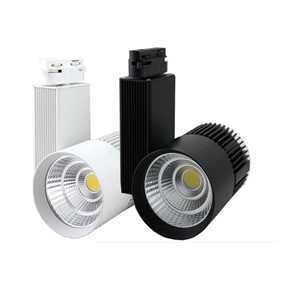10X High quality 20W 30degree COB LED track light with bridgelux LED chip AC 85-265V input express free shipping