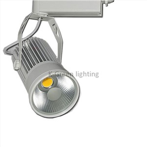 10X Classic 20W COB LED track light upgrade with bridgelux LED chip AC 85-265V input express free shipping