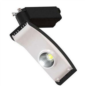 20W COB LED track light for store/shopping mall lighting lamp Color optional White+black Spot light AC85-265V
