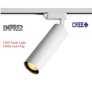 Aluminum CREE COB RA>80 Led Tracking Lamp Spot Rail Light Modern Home Ceiling Spotlights art gallery exhibition store lighting