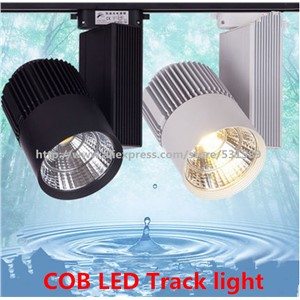 40WCOB LED Track Light  Rail Light Spotlight strip Equal to200w Halogen Lamp 110v 120v 220v 230v 240v Track Lamp Rail Lamp