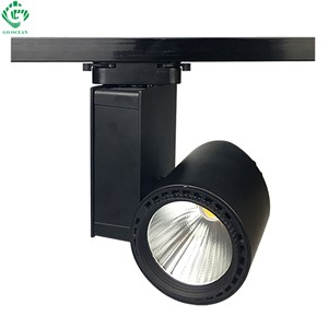 GO OCEAN Track Lighting LED Track light 30W COB Aluminum Shoes Industrial Rail Spot LED Spotlight Ceiling Rail Lights