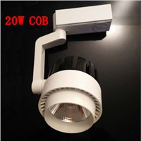 COB LED track light 20W LED track lamp ceiling track spot light ac85-265v
