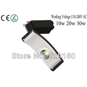 New Arrivals/Wholesale LED Track Lighting  10W/20W/30W  3000K/5500k 24D
