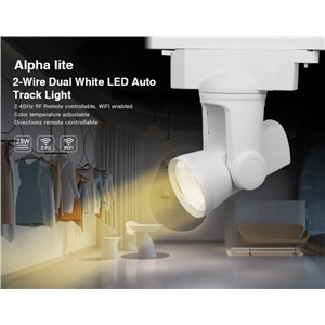 Milight AC110V-260V 2.4G RF WIFI connection 25W 2 wire Dual White/Warm White LED Auto Track Light color temperature adjustable