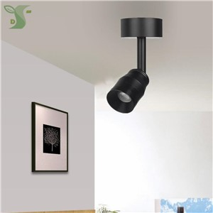 LED track light 3w 5w 7w COB ceiling spot light Adjustable focal length 3-120degree Adjustable Angle Ceiling track-style