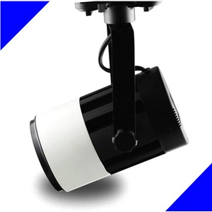 Free Shipping 10pc/lot 30W LED track light for store/shopping mall lighting lamp Color optional White+black LED Spot light