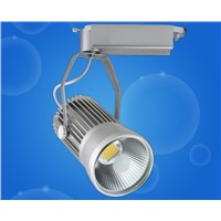 free shipping LED Track Light 20W COB Rail Light Spotlight lamp