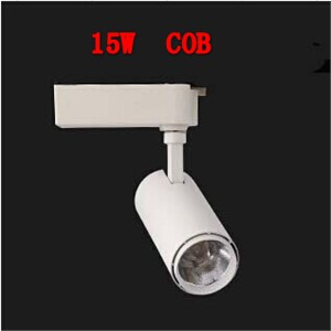 15w COB LED Track Light Clothing Store Tracking Spot Lighting High Bright For Chandelier 85V~265V CE ROHS Warranty 2 year
