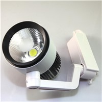 LED Track Light 30W Dimmable COB Rail Light Spotlight Lamp Replace 300W Halogen Lamp 110v 120v 220v 230v 240v Spot Lamp Bulb