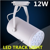 1pcs/lots led track light 12W mall clothing store spot lights bright spot lights factory direct AC85-260V