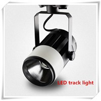 10pcs/LOT 30W COB LED track light 110 V 220 V LED spotlight rail track light lamp