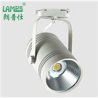 Wholesale Price COB LED track light 30W COB LED track spot light 30W LED rail light  COB LED track spotlight AC85-265V