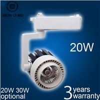 220V 230V 240V track spotlight LED rail spot light lamp COB 20W LED track light