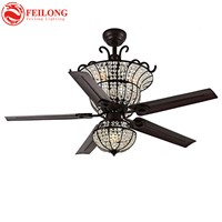 Spider Crystal Ceiling Fan 4814 Reverse Switch Remote Control