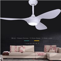 LED Modern Iron Glass Plastic Ceiling Fan LED Lamp.LED Light.Ceiling Lights.LED Ceiling Light.Ceiling Lamp For Foyer Bedroom