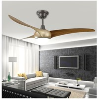 18W LED Ceiling Fan With Lights Remote Control 220-240Volt Fan LED Light Bulbs Bedroom Fan Lamp Free Shipping