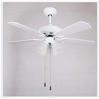 LED Ceiling Fan With Lights Remote Control Ventilador 220-240 Volt Fan LED Light Bulbs Bedroom Fan Lamp Free shipping