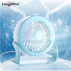 4 Modes Quiet USB Fan Small and Lovely Cooling Mini Desk Fan 180 Rotatable Misting Spray Fan Air Circulator Humidifier