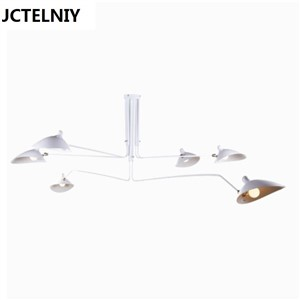 3 head Serge Mouille duckbill  ceiling light  new room lighting c-123 retro ceiling light luminaria teto